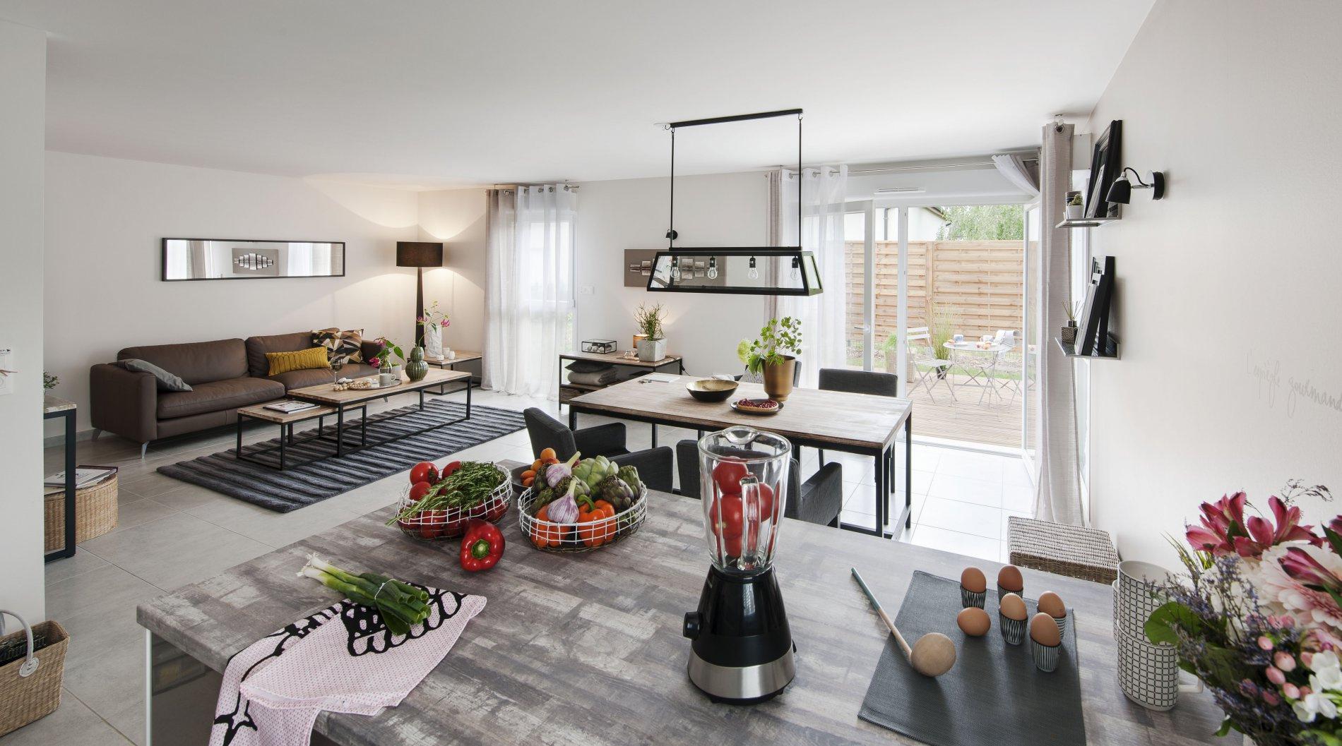Vente appartement avec terrasse et jardin for Appartement avec terrasse